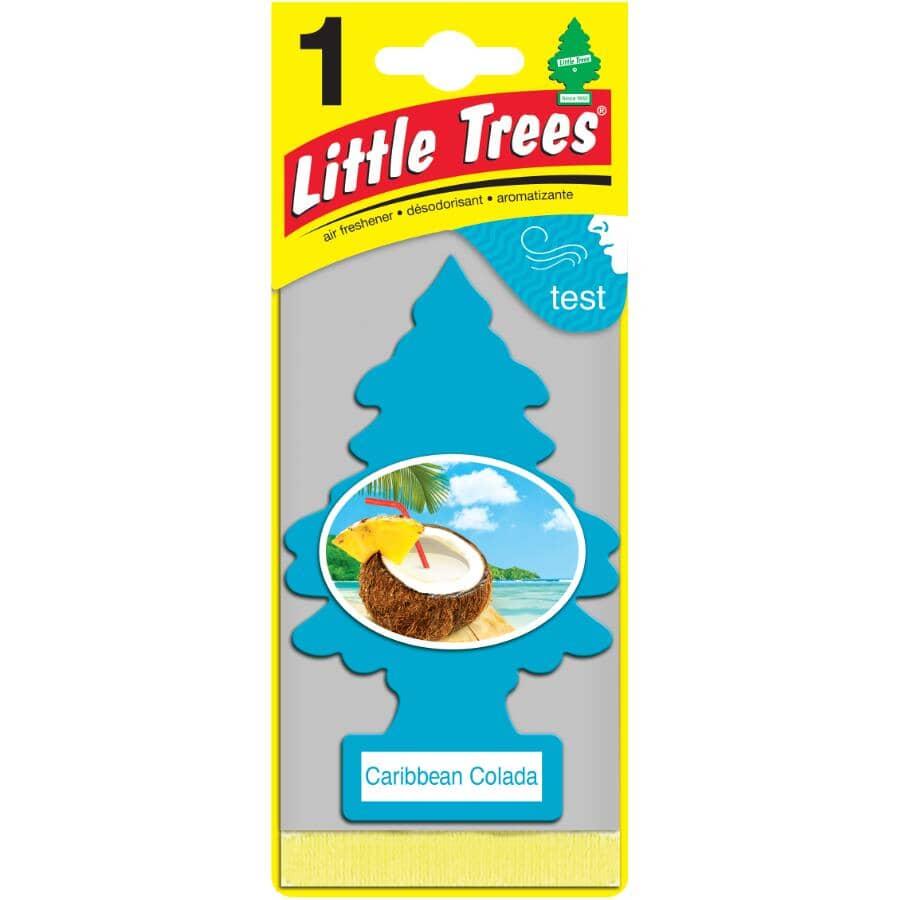 LITTLE TREES:Hanging Air Freshener - Caribbean Colada Scent