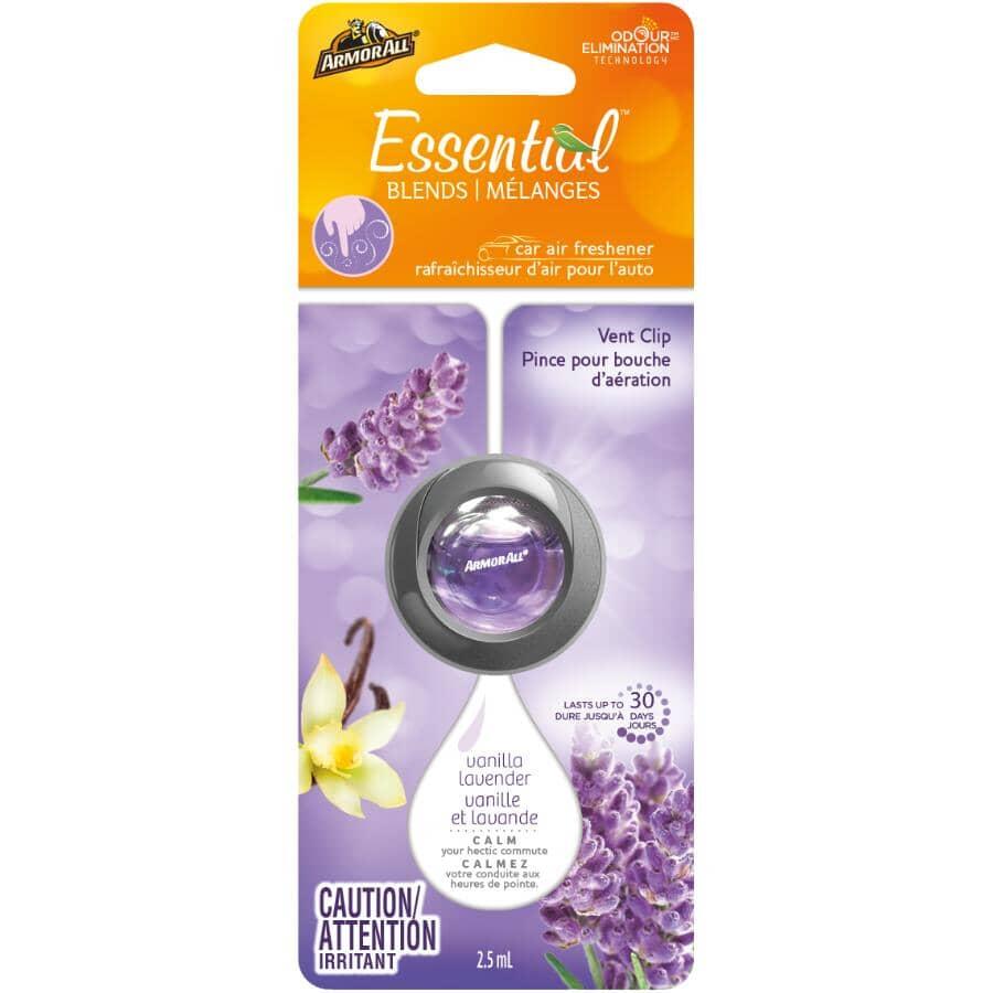 ARMOR ALL:Car Vent Clip Air Freshener - Vanilla Lavender Scent