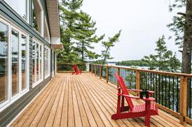 Picture of raised decks